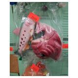 C1960s Ceramic Fish s+p Shakers
