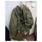 +Korean War US Air Force Winter Coat & (2) Hats