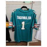 +Tua Tagovailoa Miami Dolphins Throwback Jersey