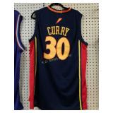 +Stephen Curry Golden State Warriors Throwback Jer