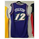 +Jon Stockton Utah Jazz Jersey Sz XL New