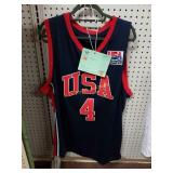 +Allen Iverson 2004 USA Olympic Jersey Sz XL New
