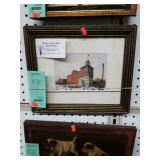 framed Peeler Neuweiler factory scene
