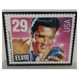 """+Framed Elvis Presley """"USA 29"""" Large Stamp"""