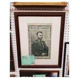 FRAMED 1904 ULYSSES S GRANT COVER from THE YOUTH