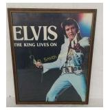 """+Framed Elvis Presley """"The King Lives On"""" Picture"""
