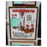 framed Bethlehem Steel safety poster