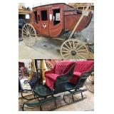 Stagecoach - Buggies - Wagons - Sleigh