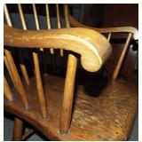 ARMS & SPINDLES ON CHAIR