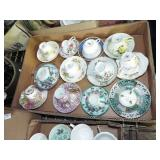 ASSORTED COLLECTOR CUP AND SAUCERS