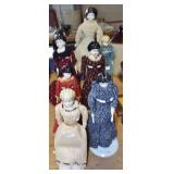 EARLY ASSORTED CHINA DOLLS