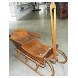 CHILDS ALL WOOD SLED