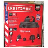 Skid of Craftsman Vacuums
