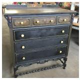 3/3 DRAWER DEPRESSION HIGH CHEST