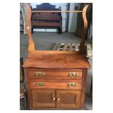2 DRAWER OVER 2 DOOR WASHSTAND