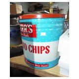 RETRO METAL HERRS CHIP CAN