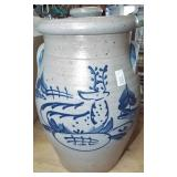 DECORATED CROCK CHURN BASE