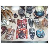 ASSORTED CARVED MASKS