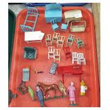 EARLY METAL MINIATURE TOYS