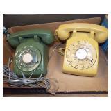MID CENTURY DIAL PHONES