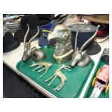 ASSORTED BRASS ANIMALS