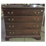 CHIPPENDALE STYLE 4 DRAWER CHEST
