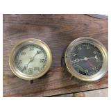 BRASS TRIMMED PRESSURE GAUGES