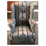 LADIES UPH. WING CHAIR