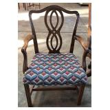 RIBBON BACK ARM CHAIR