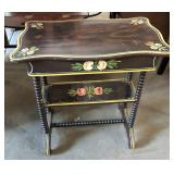 FLOWER DECORATED JENNY LINK WASHSTAND
