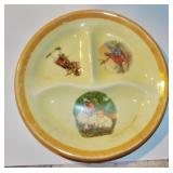 EARLY DIVIDED CHILD PLATE