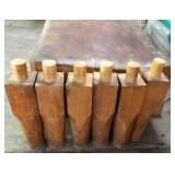 Butcher Block Table Legs