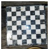 MARBLE CHECKER BOARD