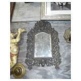 METAL ART NOVEAU MIRROR