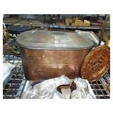 COPPER BOILER WITH LID