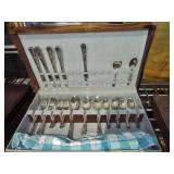 SILVERPLATE FLATWARE IN CASE
