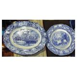 COMMEMORATIVE PLATTER & PLATE