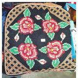NEEDLEWORK CUSHION