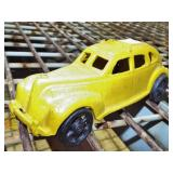 CAST IRON TAXI TOY