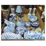 ASSORTED WEDGEWOOD AND CHINA