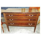 HEPPLEWHITE STYLE 3 DRAWER CHEST