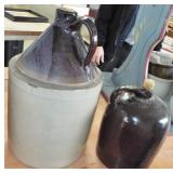 ASSORTED STONEWARE JUGS