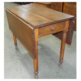 EARLY TURNED LEG DROP LEAF TABLE