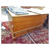 DOVETAILED BLANKET WITH 3 DRAWERS
