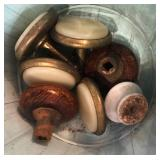 EARLY ASSORTED DOOR AND CABINET KNOBS