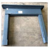 BLUE PAINTED MANTLE