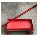 LITTLE RED WOOD WAGON
