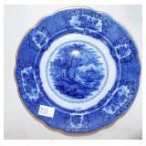 FLO BLUE PLATE