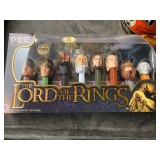 LORD OF THE RING PEZ CONTAINERS
