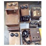 antique telephones